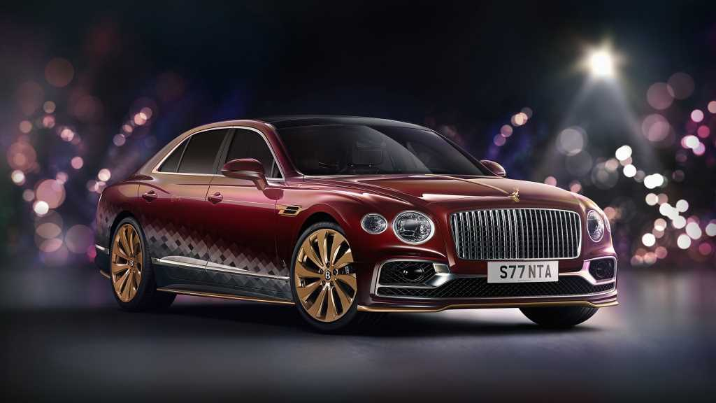 Santa Claus Replaces Iconic Sleigh With Bespoke Bentley Flying Spur V8