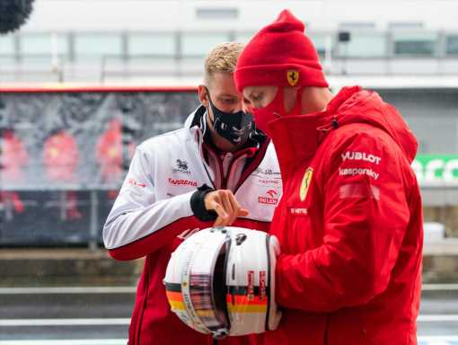 Sebastian Vettel happy to help Mick in anyway possible   F1 News by PlanetF1