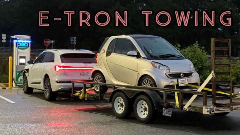 Audi e-tron Towing: Bet You Can't Guess How Much Range We Lost