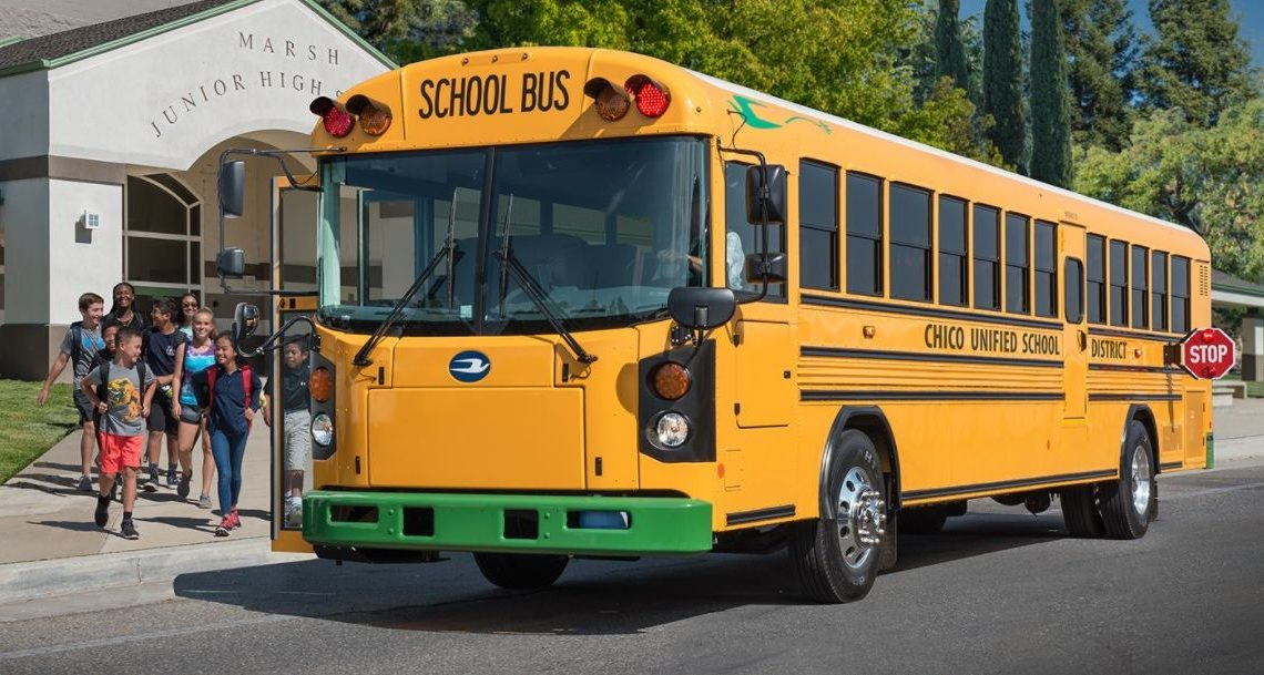 School Buses Are Going Electric, but Not Too Fast