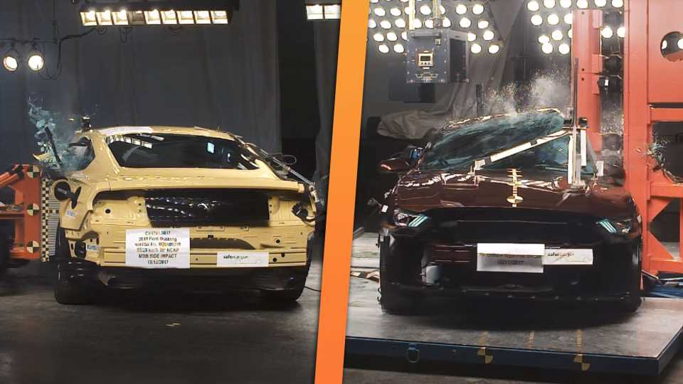 Ford Mustangs Crash-Tested by the NHTSA Are Your Cheapest Ticket Into Pony Car Ownership