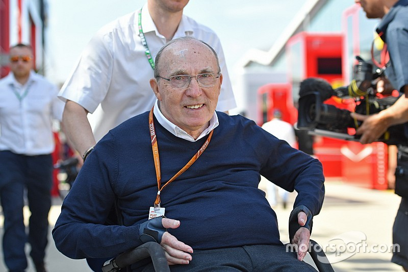 F1 news: Sir Frank Williams discharged from hospital