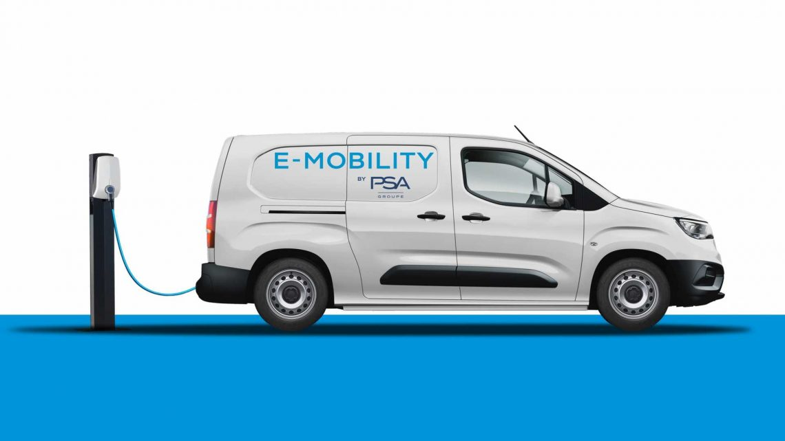 PSA Group Announces BEV Version Of All Its Compact Vans In 2021