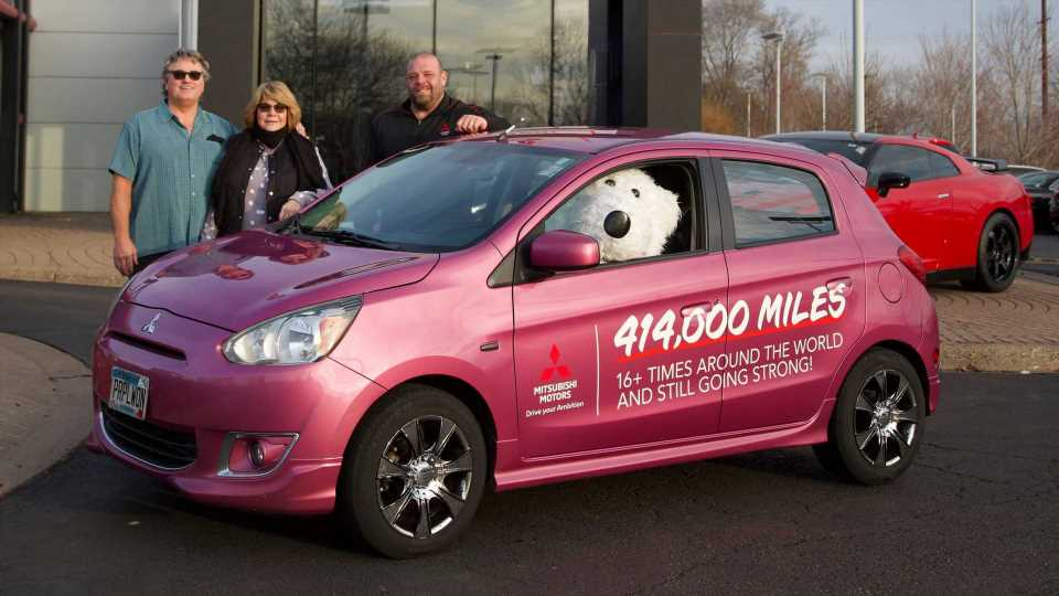Minnesota Couple Drives Over 400,000 Miles In America's Cheapest Car