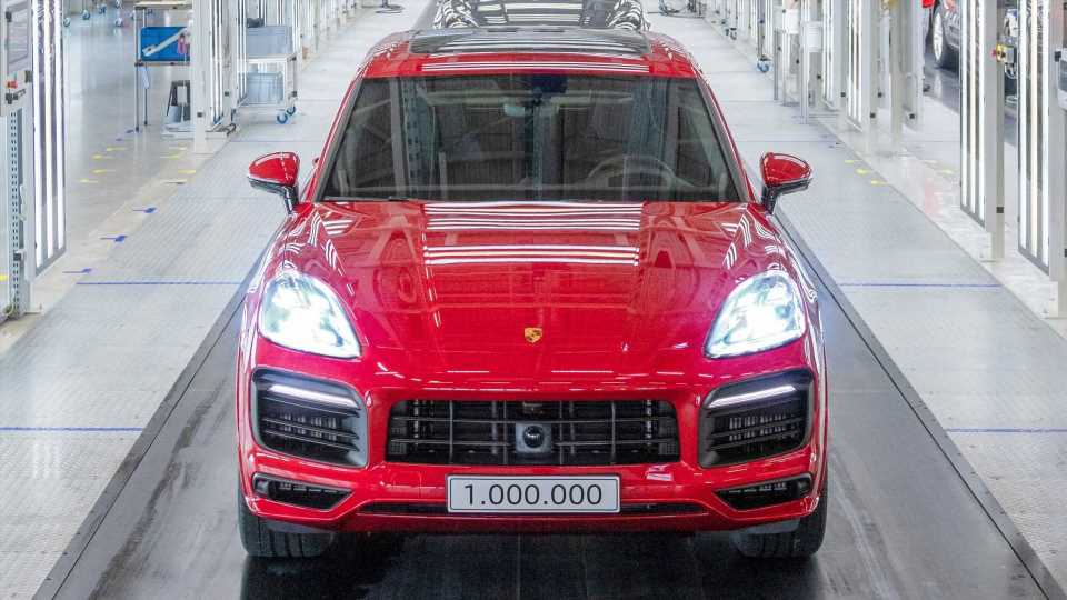 Porsche Builds One-Millionth Cayenne, The SUV That Saved It From A Crisis