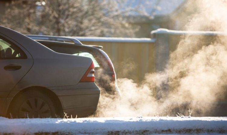 Drivers warned idling their car in winter may lead to 'negative consequences' and damage
