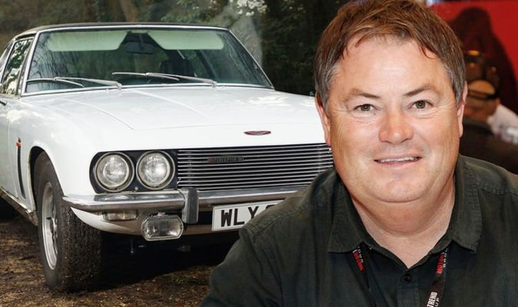 Classic Jensen Interceptor restored by Wheeler Dealers Mike Brewer has sold for £20,000