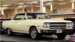 Ultra-Rare Chevy Chevelle Z16 Featured in Rick Teworgy Mecum Auction