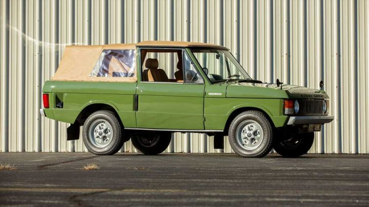 Classic 1971 Range Rover SUV Is Made Better By Having Less Roof