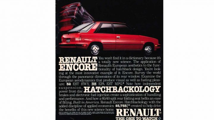 Get a Degree in Hatchbackology with the 1984 Renault Encore