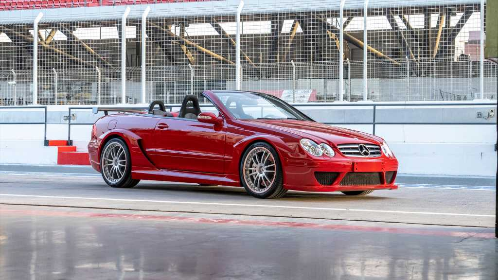 The Mercedes-Benz CLK DTM Cabrio Is One of the Rarest Modern AMGs