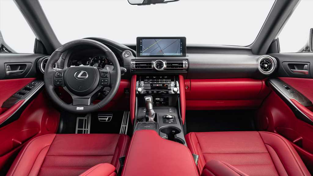 2021 Lexus IS Interior Review: Better, but Not the Best