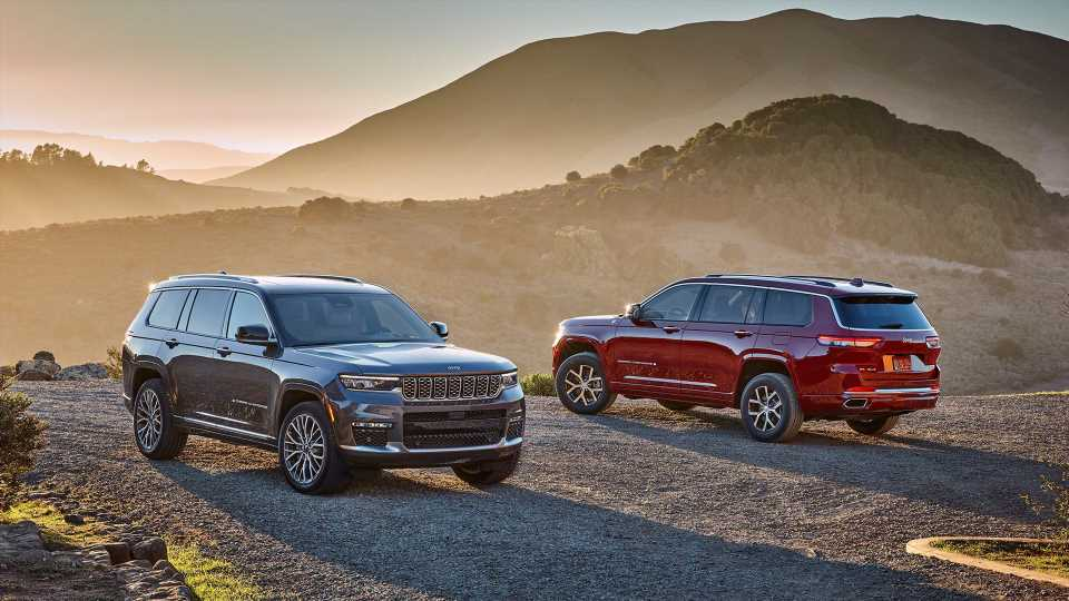 2021 Jeep Grand Cherokee L Adds Three Rows of Seats and Lots More Luxury