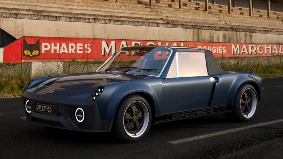 The Porsche 914 Finally Gets Its Due With an Aggressive Cayman-Based Restomod