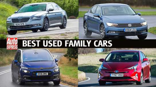 Best used family cars 2021