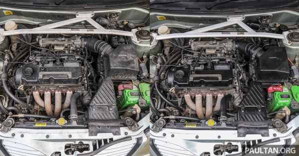 Safest method for cleaning a really dirty engine bay – brush, towels and some elbow grease, not water hose – paultan.org