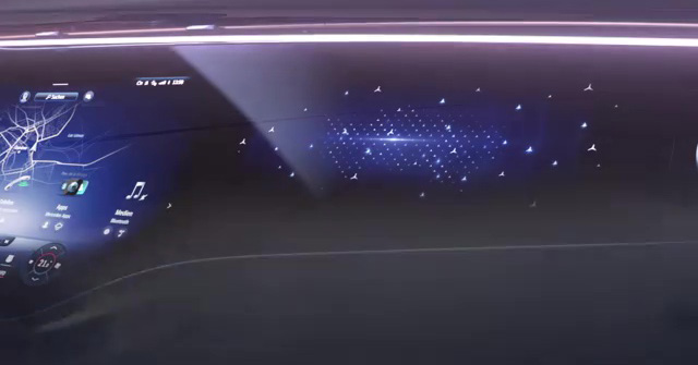 Mercedes-Benz teases its MBUX Hyperscreen system ahead of Jan 7 debut – ultrawide curved screen shown – paultan.org