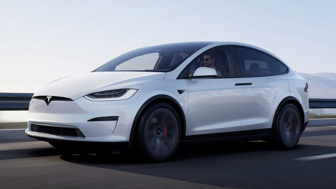 Tesla Model X facelift: new interior and 1,006bhp Plaid model for 2021