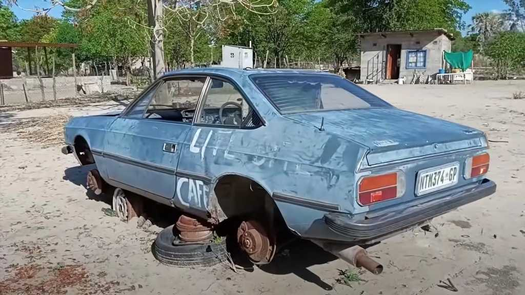 """Lancia Beta From Top Gear's """"Botswana Special"""" Found by YouTuber"""