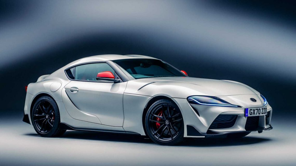 New Toyota GR Supra 2.0 hits the UK, priced from £45,995