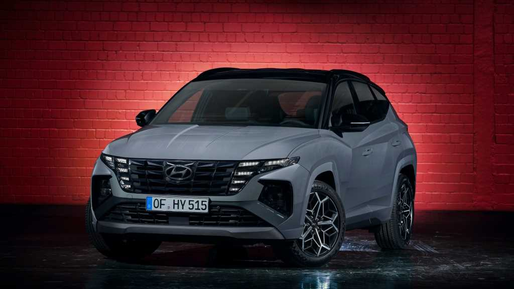 2022 Hyundai Tucson N-Line First Look: Sportier Looking, That's It