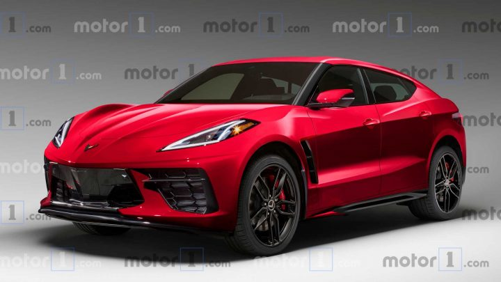 GM Working On Numerous Electric Corvette SUV Concept Designs: Report