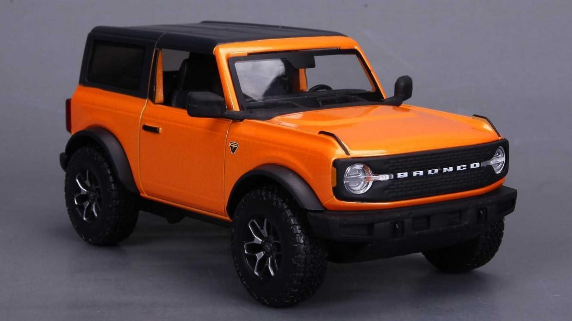 Maisto Reveals 1:24 Scale Ford Bronco Models, Coming Soon