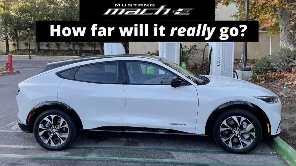 Ford Mustang Mach-E Electric Crossover: What's The Real-World Range?