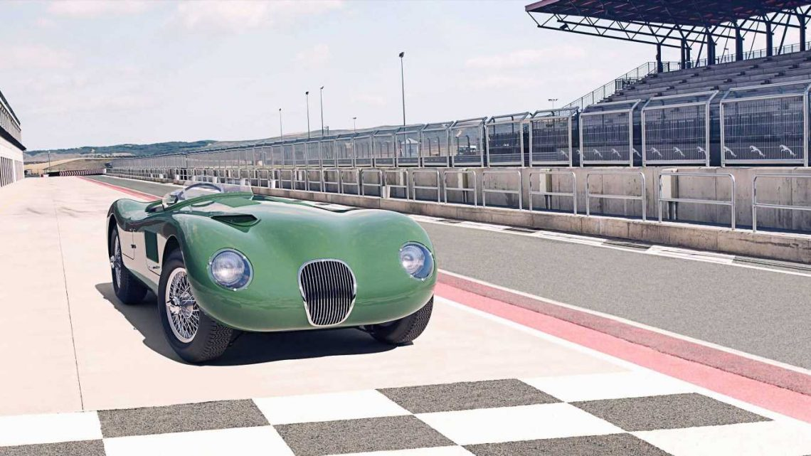 Jaguar Celebrates the C-Type with a Continuation Series