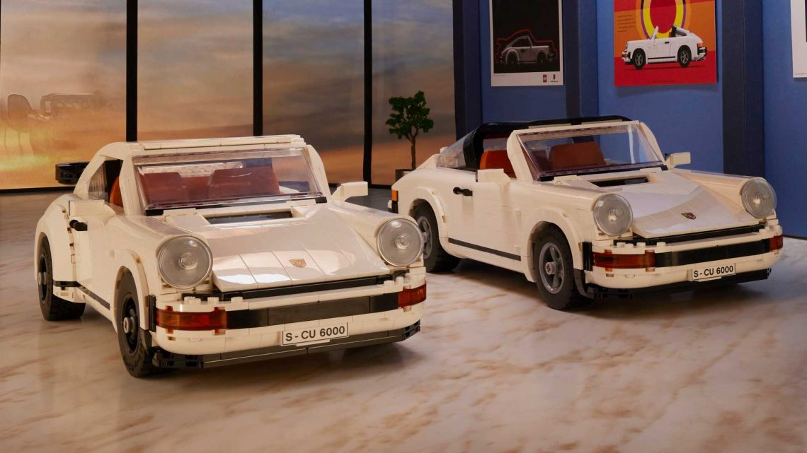 Lego Porsche 911 Turbo And Targa Is A 2-In-1 Bundle Of Fun