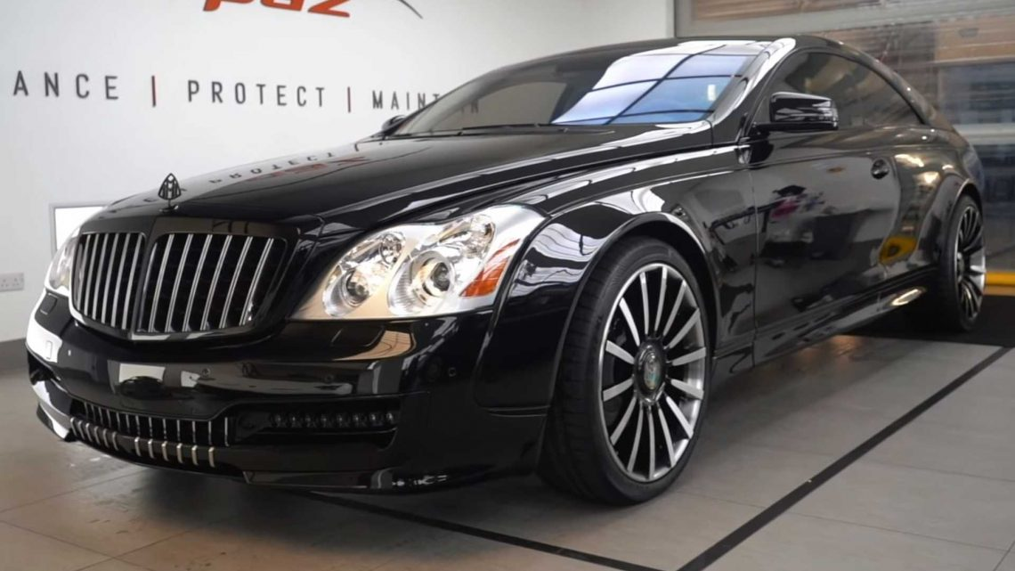 Watch The Ultra-Rare Maybach 57S Coupe By Xenatec Get A Color Change