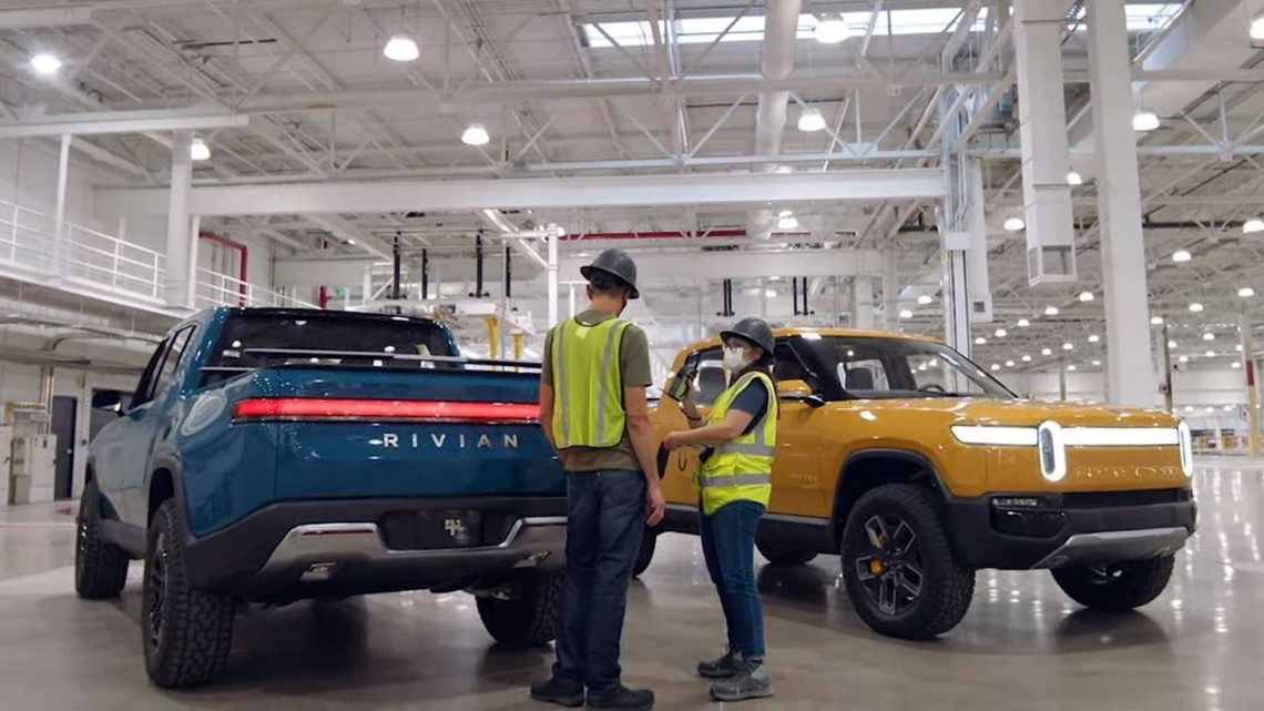 Rivian Reportedly Close To $25-Billion Valuation After New Round Of Funding