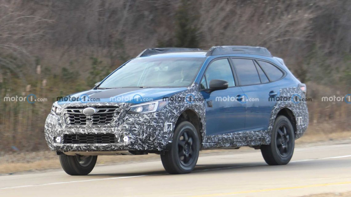 Subaru Outback Wilderness Edition Spied For The First Time
