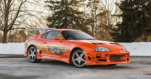 How Paul Walker's Fast & FuriousSupra Was Nearly A 3000GT, And Other F&F Car Rejects