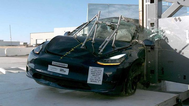 Tesla Model Y Scores Top Marks In NHTSA Crash Tests: Watch The Videos Here