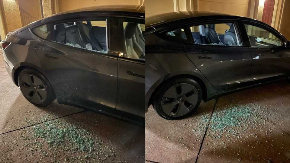 Spontaneous Glass-Shattering Issue Now Strikes A 2021 Tesla Model 3