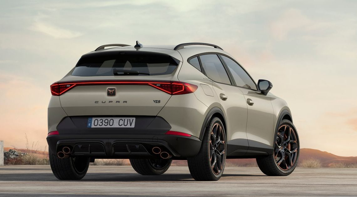 The 385bhp Cupra Formentor VZ5 Is Here To Get Its Five-Pot Warble On