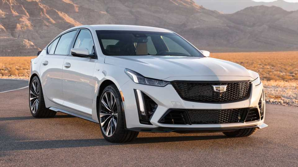The 2022 Cadillac CT5-V Blackwing Is The Most Powerful Cadillac Ever