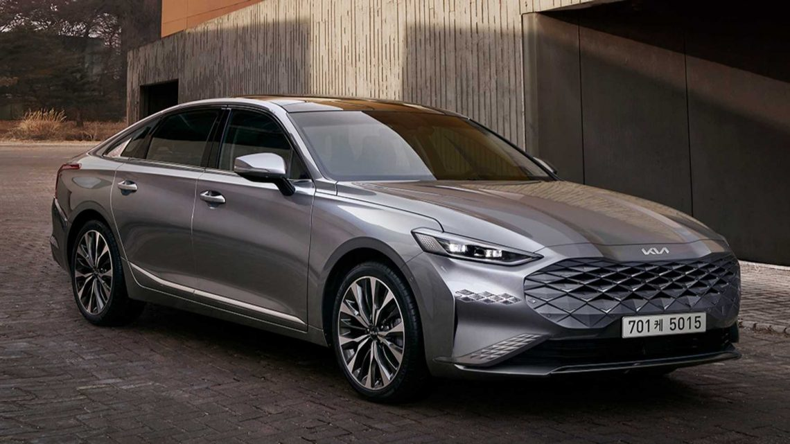2022 Kia K8 Official Images Show Fancy New Sedan To Replace Cadenza