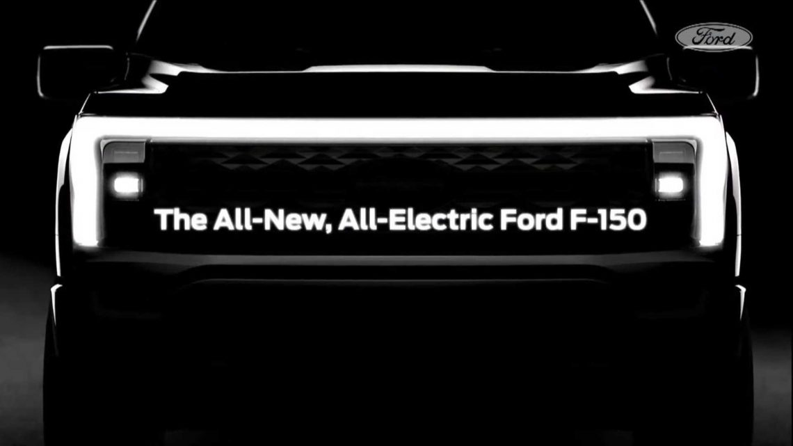 Ford F-150 Electric Pickup Truck Will Enter Production In 2022