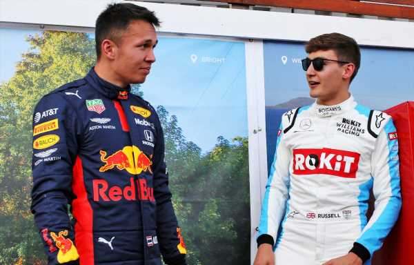 Albon penalty hands Russell Virtual British GP win   F1 News by PlanetF1