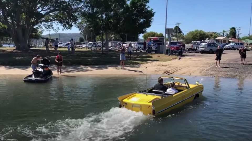 Who Needs a Boat When You Could Have an Amphicar?