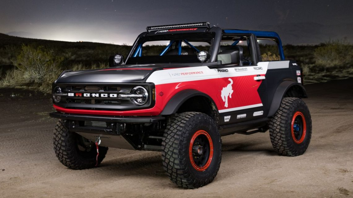 Ford reveals the Bronco 4600 stock class race truck – paultan.org