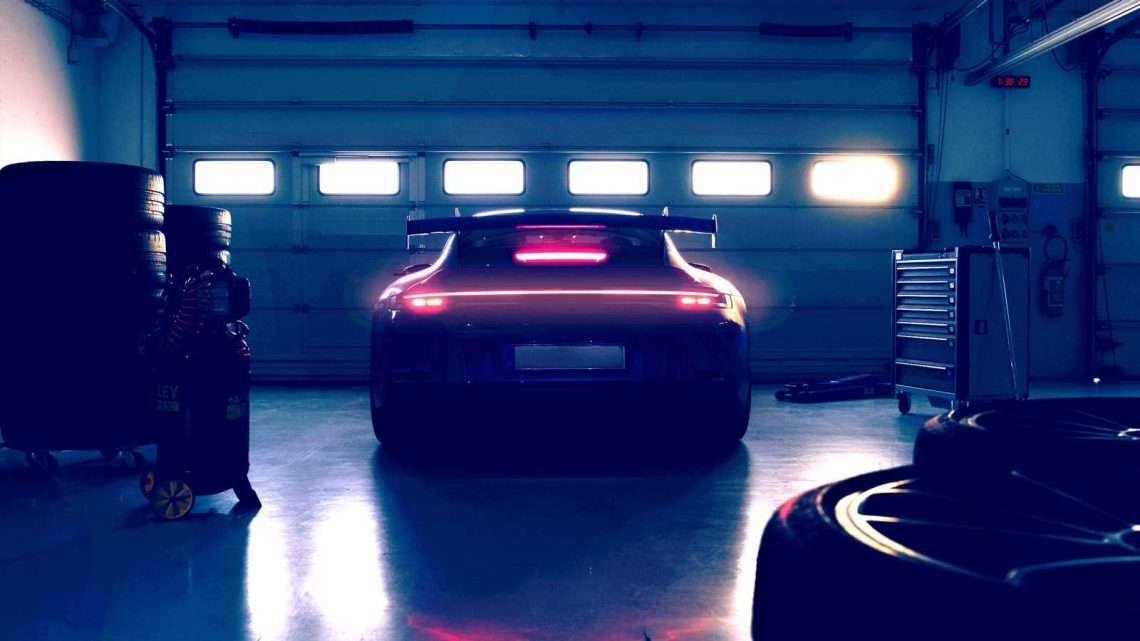 New 2021 Porsche 911 GT3 teased prior to 16 Feb reveal