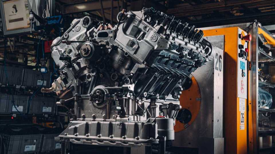 Behold The 650-Horesepower W12 Engine Of The First Bentley Bacalar