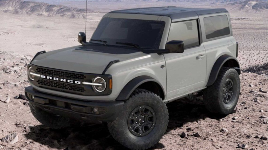 Ford Bronco Color Cactus Gray Has Been Changed In Configurator