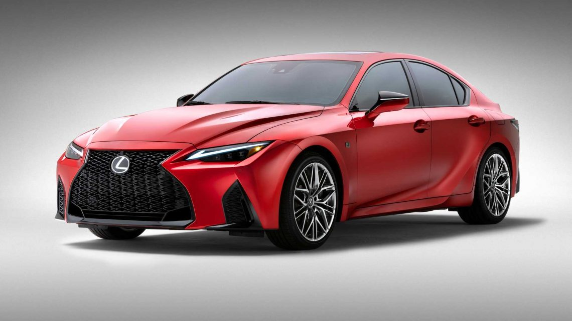 2022 Lexus IS 500 Debuts With Revvy 5.0L V8 Making 472 HP