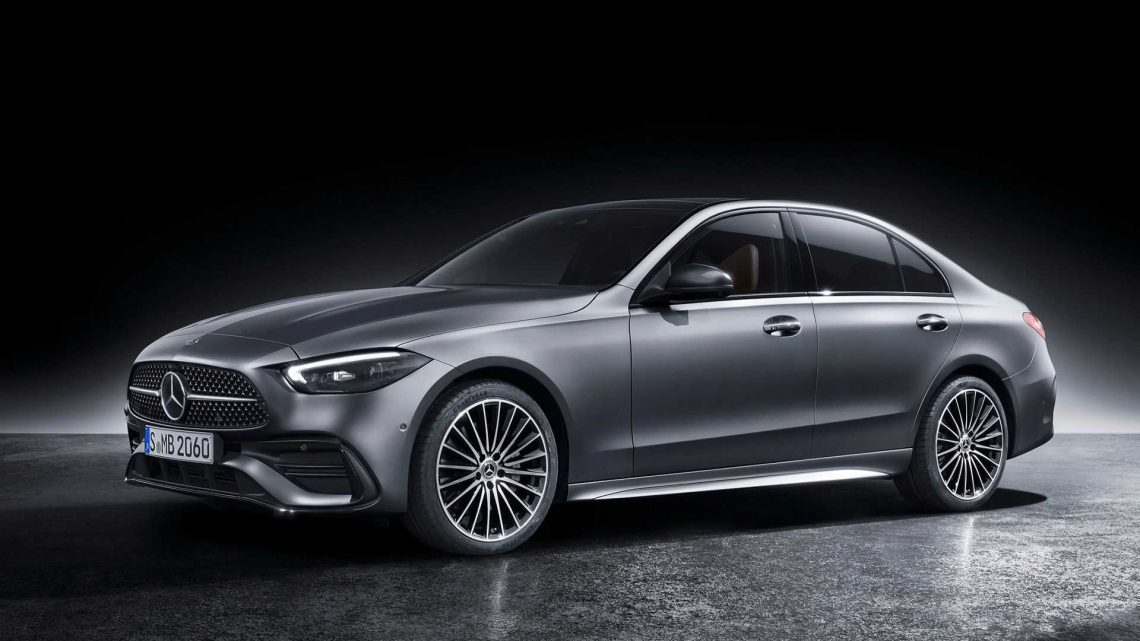 2022 Mercedes C-Class Debuts With S-Class Design Inspiration And Tech