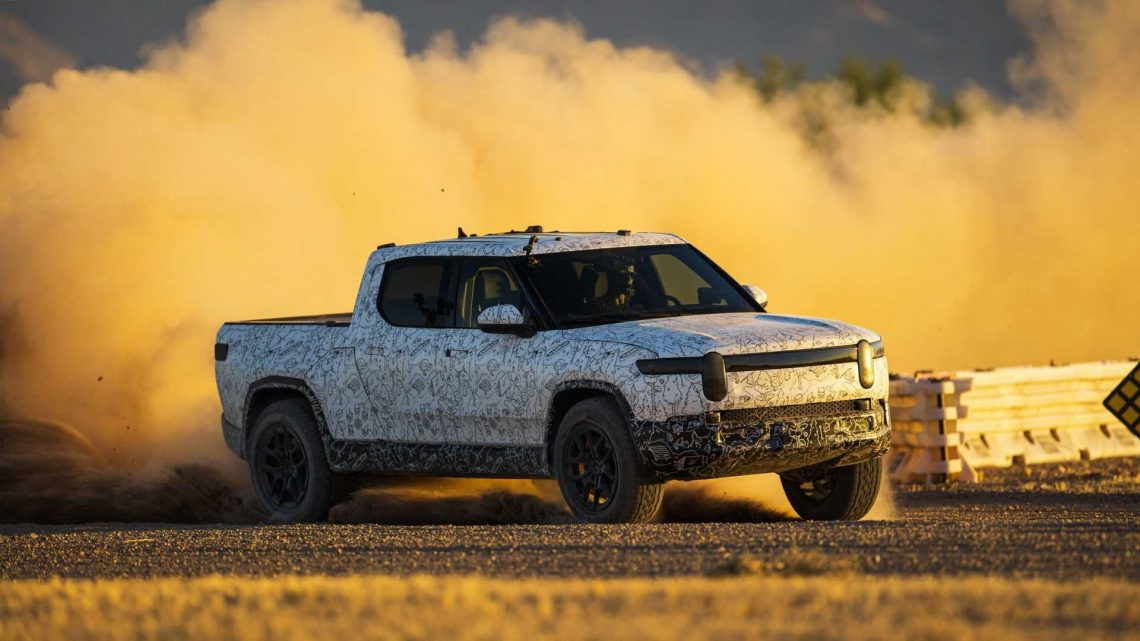 Rivian R1T Electric Truck And R1S SUV Will Feature Unique Drift Mode