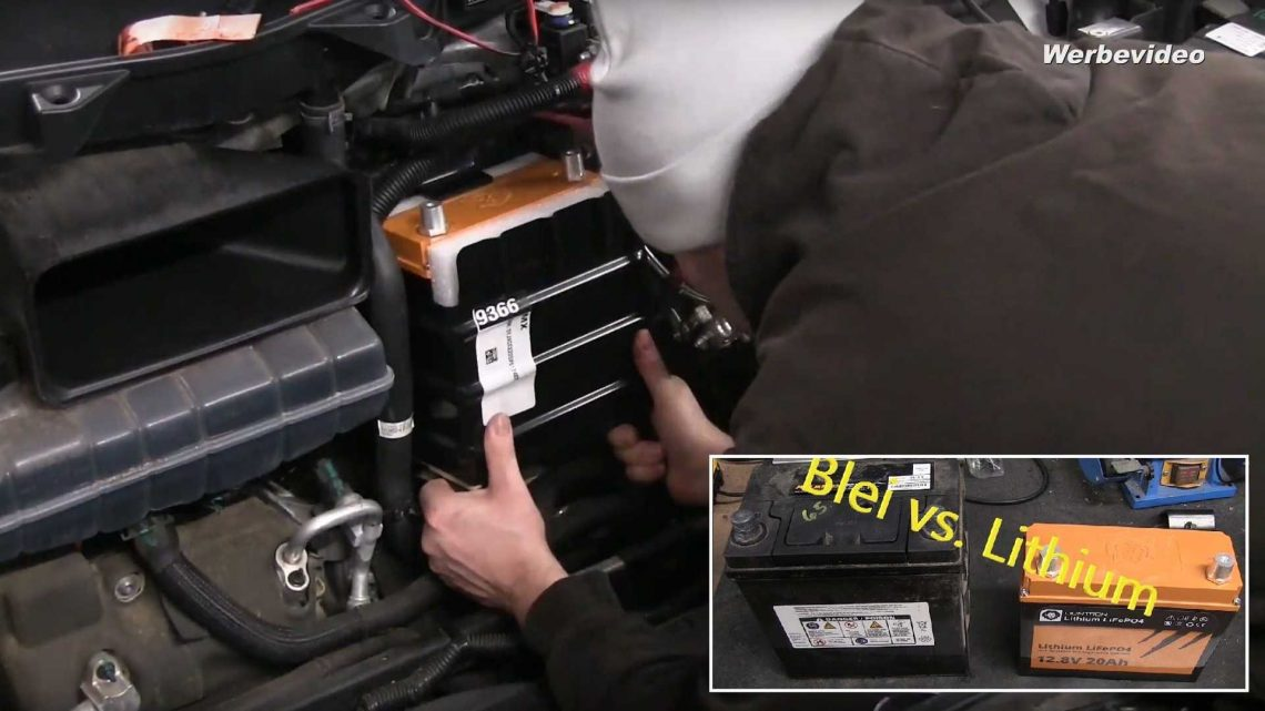 Watch This DIY Tesla Model X 12V Battery Replacement To Li-Ion